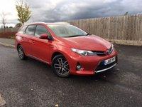 2015 TOYOTA AURIS 1.8 VVT-I ICON PLUS 5d AUTO 98 BHP £14500.00