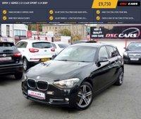 USED 2012 BMW 1 SERIES 2.0 116D SPORT 114 BHP