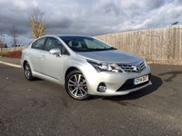 2014 TOYOTA AVENSIS 2.0 D-4D ICON BUSINESS EDITION 4d 124 BHP £9950.00