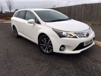 2014 TOYOTA AVENSIS 2.0 D-4D ICON BUSINESS EDITION 5d 124 BHP £8985.00