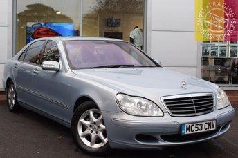 2003 MERCEDES-BENZ S CLASS 5.0 S500 L 4d 302 BHP £2495.00