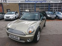 USED 2010 59 MINI CONVERTIBLE 1.6 COOPER 2d 120 BHP