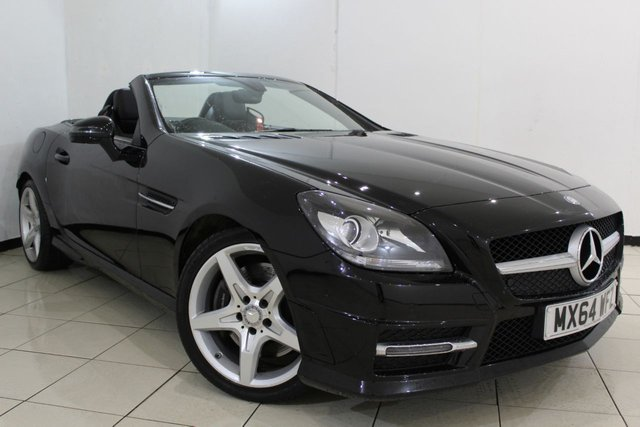 View our 2014 64 MERCEDES-BENZ SLK 2.1 SLK250 CDI BLUEEFFICIENCY AMG SPORT 2DR AUTOMATIC 204 BHP