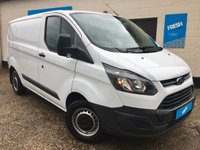 USED 2016 66 FORD TRANSIT CUSTOM 2.2 290 L1H1 Panel Van