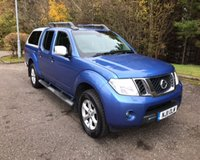 USED 2011 11 NISSAN NAVARA 2.5 DCI TEKNA SPECIAL EDITION NO VAT 4DR PICK UP 188 BHP 6 MONTHS PARTS+ LABOUR WARRANTY+AA COVER