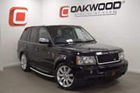 USED 2007 56 LAND ROVER RANGE ROVER SPORT 2.7 TDV6 SPORT HSE 5d AUTO 188 BHP *LOW MILES* PRIVACY GLASS + SAT NAV