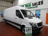 2015 MERCEDES-BENZ SPRINTER 2.1 313 CDI LWB 130 BHP JUMBO 4MTR LOAD CHOICE IN STOCK £13895.00