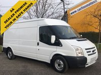 USED 2013 13 FORD TRANSIT 100 T300 L3 Lwb [ Sat Nav+ Air Con ] H2 Van 2.2 TDCi Fwd Fsh Delivery T,B,A