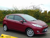 USED 2009 09 FORD FIESTA 1.4 ZETEC 16V 5d * ONE OWNER FROM NEW *128 POINT AA INSPECTED*