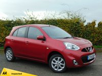 USED 2014 14 NISSAN MICRA 1.2 ACENTA 5d * 128 POINT AA INSPECTED *