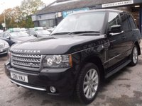 USED 2011 11 LAND ROVER RANGE ROVER 4.4 TDV8 VOGUE SE 5d AUTO 313 BHP