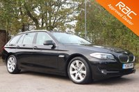 2010 BMW 5 SERIES 3.0 525D SE TOURING 5d AUTO 202 BHP £11590.00