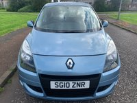 USED 2010 10 RENAULT SCENIC 1.6 VVT Expression 5dr 2 Keys! New Cambelt! Full MOT!