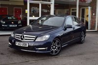 USED 2013 63 MERCEDES-BENZ C CLASS 2.1 C250 CDI BLUEEFFICIENCY AMG SPORT PLUS 4d 202 BHP