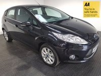 USED 2011 11 FORD FIESTA 1.4 ZETEC 16V 5d AUTO 96 BHP VERY LOW MILEAGE - FULL FORD SERVICE HISTORY - AIR CON - CD PLAYER - AUX - ALLOY WHEELS
