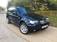 2007 BMW X3 3.0 D M SPORT 5d 215 BHP PLEASE CALL TO VIEW £7000.00
