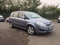 2009 VAUXHALL ZAFIRA 1.6 EXCLUSIV 5d P/EX TO CLEAR MOT OCTOBER 2018 £2500.00