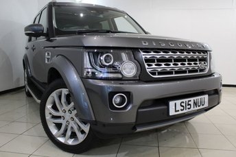 2015 LAND ROVER DISCOVERY 3.0 SDV6 HSE 5DR AUTOMATIC 255 BHP £38466.00