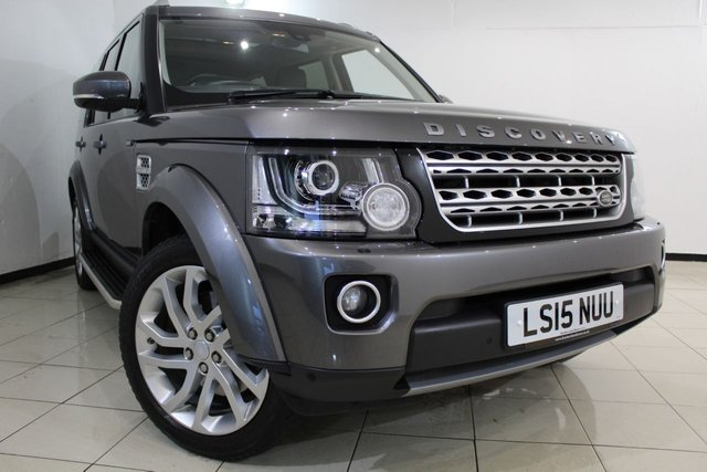 View our 2015 15 LAND ROVER DISCOVERY 4 3.0 SDV6 HSE 5DR AUTOMATIC 255 BHP