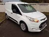 2014 FORD TRANSIT CONNECT  200 1.6 TDCI 95 BHP TREND 3 SEATER  £7895.00