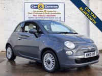 USED 2012 12 FIAT 500 1.2 LOUNGE 3d 69 BHP Bluetooth £30 Tax Air Con 0% Deposit Finance Available