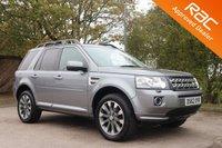 2012 LAND ROVER FREELANDER 2.2 SD4 HSE LUXURY 5d AUTO 190 BHP £16990.00