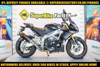 USED 2014 14 APRILIA TUONO V4 APRC ABS GOOD BAD CREDIT ACCEPTED, NATIONWIDE DELIVERY,APPLY NOW