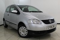 USED 2008 08 VOLKSWAGEN FOX 1.2 URBAN 6V 3DR 54 BHP SERVICE HISTORY + AIR CONDITIONING + RADIO/CD + ELECTRIC WINDOWS