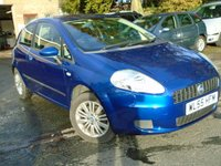 USED 2006 55 FIAT GRANDE PUNTO 1.4 DYNAMIC 8V 3d 77 BHP *CHEAP TO RUN AND INSURE*