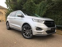 USED 2016 16 FORD EDGE 2.0 SPORT TDCI 5d AUTO 207 BHP RARE FORD EDGE SPORT WITH £ 1000's WORTH OF FACTORY FITTED EXTRAS.