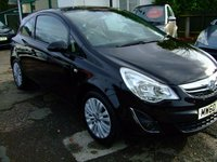 USED 2011 60 VAUXHALL CORSA 1.2 SE 3d 83 BHP BUY NOW 1ST PAYMENT FEB 2018