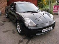 2001 TOYOTA MR2 1.8 ROADSTER SMT HARD TOP 2d AUTO 138 BHP £3995.00