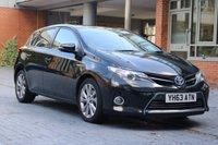 2013 TOYOTA AURIS 1.8 EXCEL VVT-I 5d AUTO 99 BHP £SOLD
