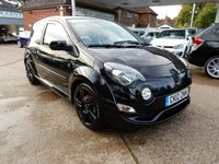 USED 2012 12 RENAULT TWINGO 1.6 RENAULTSPORT 3d 133 BHP SERVICE HISTORY,BLUETOOTH,AIR CON,TWO KEYS