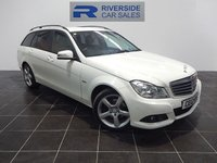 USED 2012 12 MERCEDES-BENZ C CLASS 2.1 C220 CDI BLUEEFFICIENCY SE 5d 168 BHP