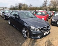 USED 2015 65 MERCEDES-BENZ E-CLASS 2.1 E220 BLUETEC AMG NIGHT EDITION 4d AUTO 174 BHP NO DEPOSIT AVAILABLE, DRIVE AWAY TODAY!!