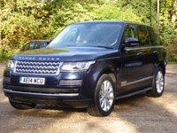2014 LAND ROVER RANGE ROVER 4.4 SDV8 VOGUE SE 5d AUTO 339 BHP £53000.00