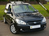 2006 HYUNDAI GETZ 1.4 CDX 5d AUTO 96 BHP £2995.00