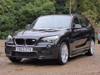 2014 BMW X1 2.0 XDRIVE20D M SPORT 5d AUTO 181 BHP £14495.00