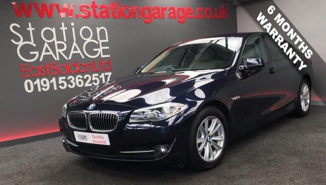 2013 13 BMW 5 SERIES 2.0 520D SE 4d AUTO 181 BHP PRO NAV, SPORT GEAR BOX
