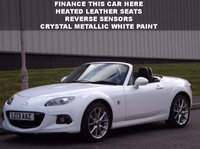USED 2013 13 MAZDA MX-5 2.0 I ROADSTER SPORT TECH 2d 158 BHP