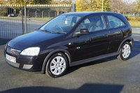 USED 2006 06 VAUXHALL CORSA 1.0 ACTIVE 12V TWINPORT 3d 60 BHP Perfect 1st Car
