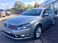 2014 VOLKSWAGEN PASSAT 1.6 EXECUTIVE TDI BLUEMOTION TECHNOLOGY 5d 104 BHP £10995.00