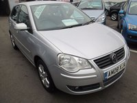 USED 2008 08 VOLKSWAGEN POLO 1.4 MATCH 5d AUTOMATIC  79 BHP