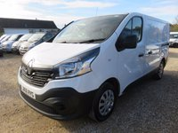 2016 RENAULT TRAFIC  SL27 BUSINESS DCI SWB 2035 MILES ONLY AIR CON £11995.00