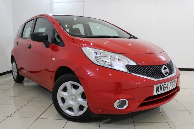 View our 2014 64 NISSAN NOTE 1.2 VISIA 5DR 80 BHP