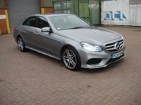 USED 2014 64 MERCEDES-BENZ E CLASS 2.1 E220 BLUETEC AMG LINE 4d AUTO 174 BHP ANY PART EXCHANGE WELCOME, COUNTRY WIDE DELIVERY ARRANGED, HUGE SPEC