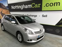 USED 2012 62 TOYOTA VERSO TR D-4D