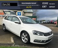 USED 2012 62 VOLKSWAGEN PASSAT 2.0 SE TDI BLUEMOTION TECH 140ps NEW TYRES FSH £30 ROAD TAX