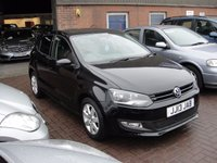 2013 VOLKSWAGEN POLO 1.2 MATCH EDITION 5d 59 BHP £5980.00